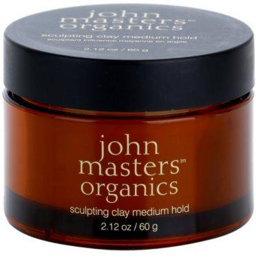 John Masters Organics Sculpting Clay Medium Hold modellierende Paste für mattes Aussehen