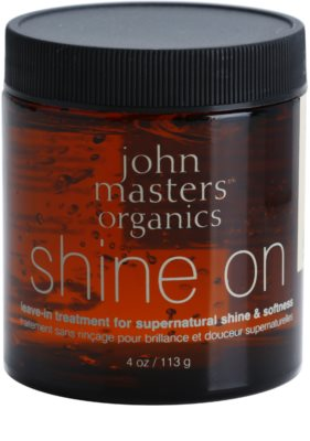 John Masters Organics Shine On stiling gel za gladke in sijoče lase