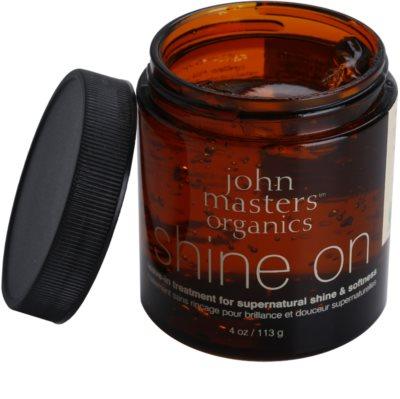 John Masters Organics Shine On stylingový gel pro hladké a lesklé vlasy 1