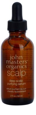 John Masters Organics Scalp globinsko čistilni serum za lasišče