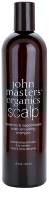 John Masters Organics Scalp stimuláló sampon egészséges fejbőrre