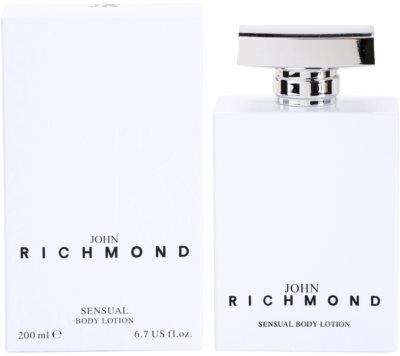 John Richmond Eau de Parfum leche corporal para mujer