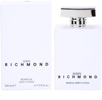 John Richmond Eau de Parfum leite corporal para mulheres