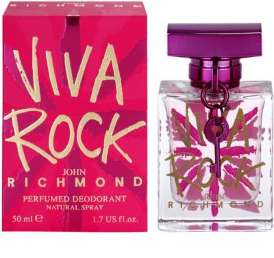 John Richmond Viva Rock deodorant Spray para mulheres