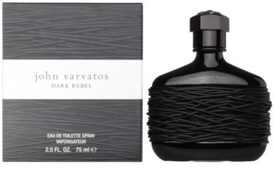 John Varvatos Dark Rebel Eau de Toilette pentru barbati
