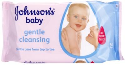 Johnson's Baby Diapering делікатно очищаючі серветки