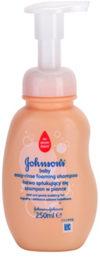 Johnson's Baby Wash and Bath champô espumoso de fácil enxáguar
