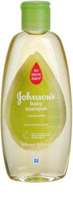 Johnson's Baby Wash and Bath Champô para cabelos brilhantes com camomilla