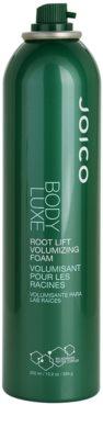 Joico Body Luxe espuma para dar volume desde o raiz 1