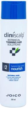 Joico CliniScalp Botanical Solutions acondicionador para la pérdida de cabello natural