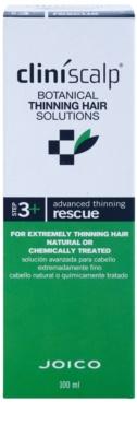 Joico CliniScalp Botanical Solutions Pflege für schütteres Haar 2