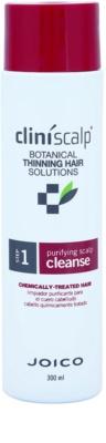 Joico CliniScalp Botanical Solutions sampon a vegyileg kezelt haj elvékonyodása ellen