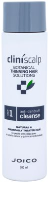 Joico CliniScalp Botanical Solutions шампунь проти лупи для рідкого  волосся