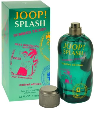 Joop! Splash Summer Ticket 2012 toaletna voda za moške