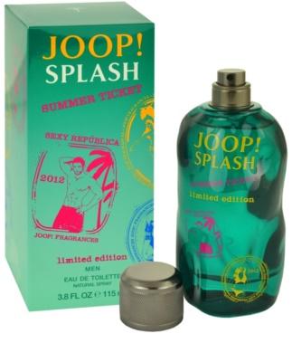 Joop! Splash Summer Ticket 2012 toaletní voda pro muže