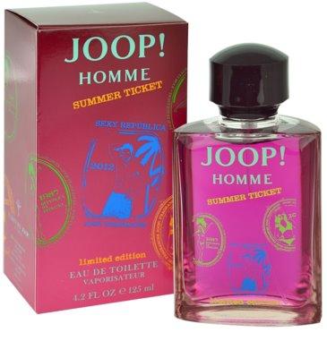 Joop! Homme Summer Ticket 2012 Eau de Toilette pentru barbati