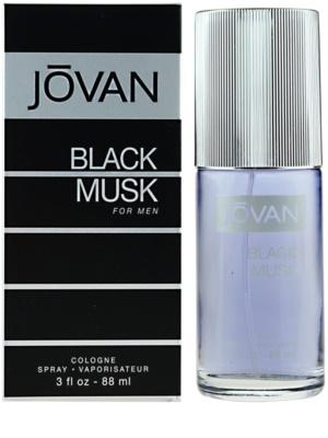 Jovan Black Musk Eau de Cologne für Herren