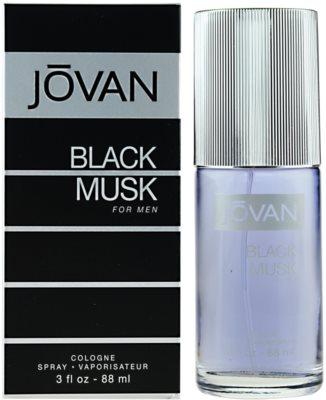 Jovan Black Musk Eau de Cologne para homens
