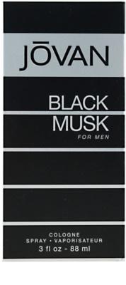 Jovan Black Musk Eau De Cologne pentru barbati 3