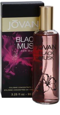 Jovan Black Musk Eau de Cologne para mulheres 1