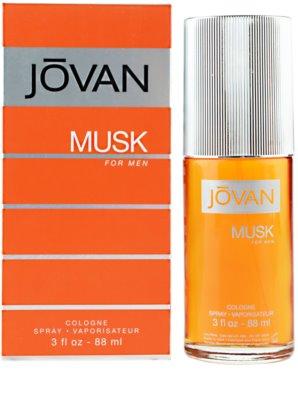 Jovan Musk Eau de Cologne para homens