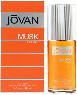 Jovan Musk kolínská voda pro muže