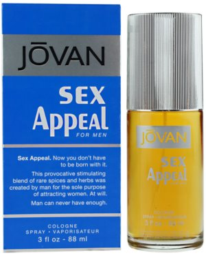 Jovan Sex Appeal Eau de Cologne für Herren