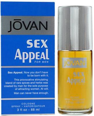 Jovan Sex Appeal Eau De Cologne pentru barbati