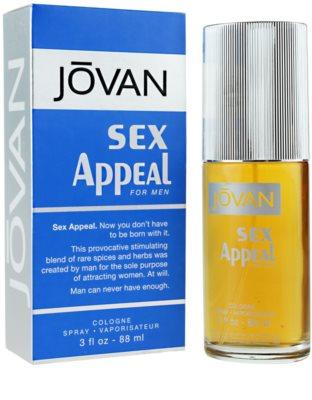 Jovan Sex Appeal Eau de Cologne para homens 1