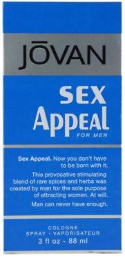 Jovan Sex Appeal Eau de Cologne para homens 4