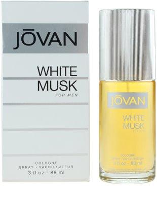 Jovan White Musk colonia para hombre