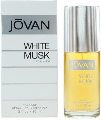 Jovan White Musk Eau de Cologne para homens
