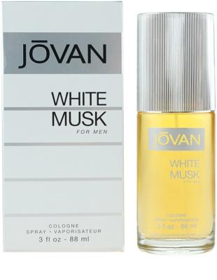 Jovan White Musk Eau De Cologne pentru barbati