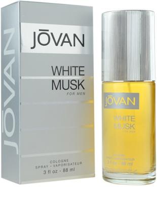 Jovan White Musk Eau de Cologne für Herren 1