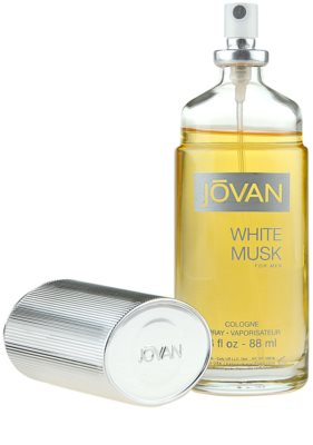 Jovan White Musk Eau de Cologne für Herren 3