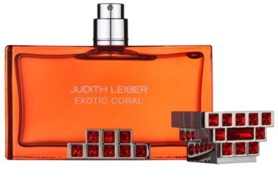 Judith Leiber Exotic Coral Eau De Parfum pentru femei 4