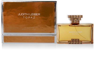 Judith Leiber Topaz Eau de Parfum para mulheres