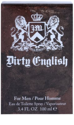 Juicy Couture Dirty English eau de toilette para hombre 4