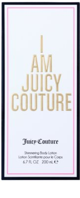 Juicy Couture I Am Juicy Couture leche corporal para mujer   třpytivé tělové mléko 1