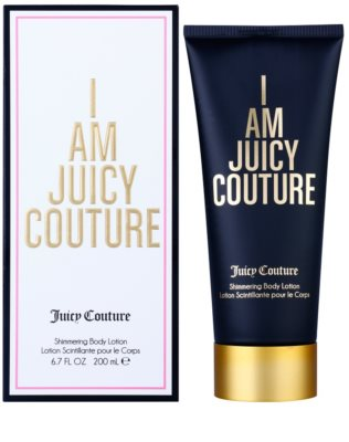 Juicy Couture I Am Juicy Couture leche corporal para mujer   třpytivé tělové mléko