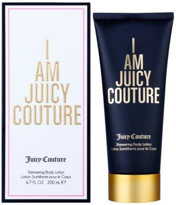 Juicy Couture I Am Juicy Couture leite corporal para mulheres   třpytivé tělové mléko