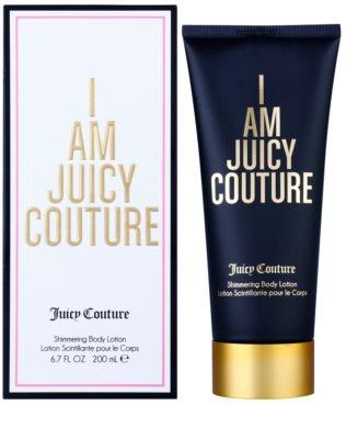 Juicy Couture I Am Juicy Couture losjon za telo za ženske   třpytivé tělové mléko