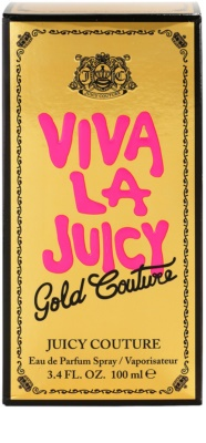 Juicy Couture Viva La Juicy Gold Couture eau de parfum nőknek 4