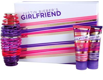Justin Bieber Girlfriend ajándékszettek