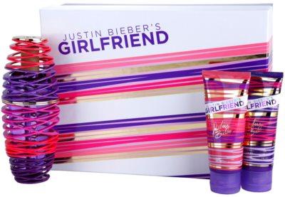 Justin Bieber Girlfriend dárkové sady