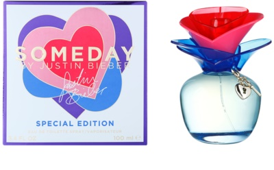 Justin Bieber Someday Summer Edition Eau de Toilette para mulheres