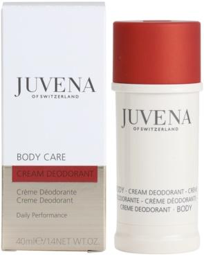 Juvena Body Care desodorante en crema 2