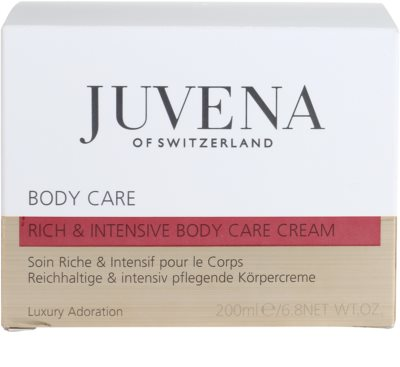 Juvena Body Care intensywny krem do ciała 4