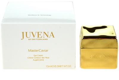 Juvena MasterCaviar crema antiarrugas para contorno de ojos  antibolsas y antiojeras 1