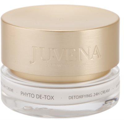 Juvena Phyto De-Tox creme desintoxicante para iluminar e alisar pele